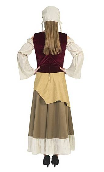 Costume-de-paysanne-médiévale-grande-taille-4
