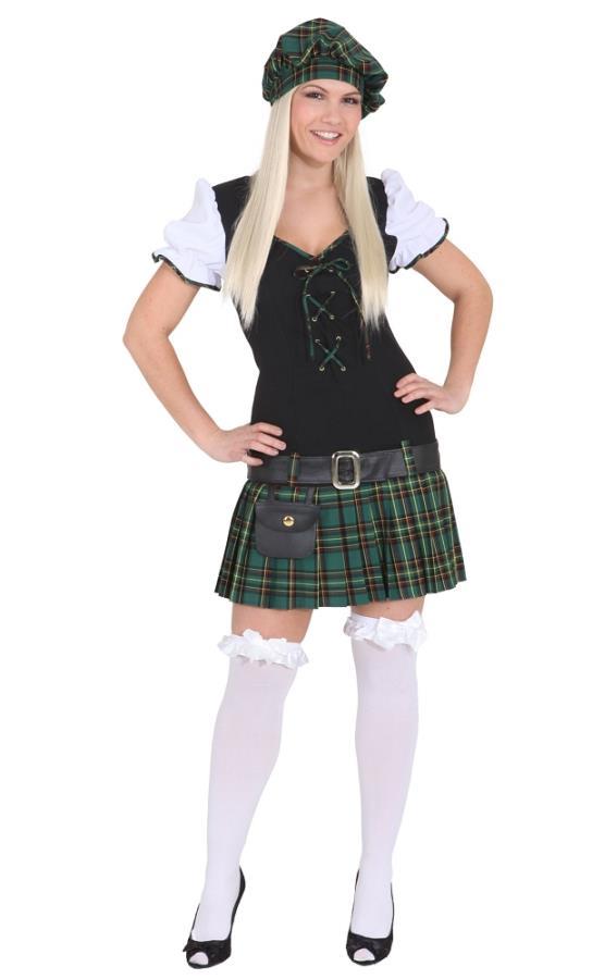 Costume d'écossaise - Déguisement adulte