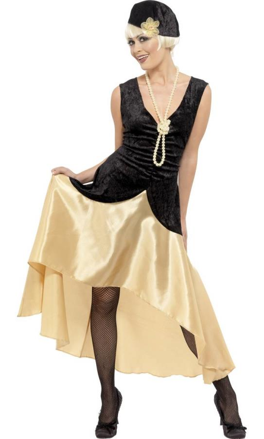 Robe Gatsby Grande Taille Deguisement Adulte Femme W20230 Atelier Mascarade