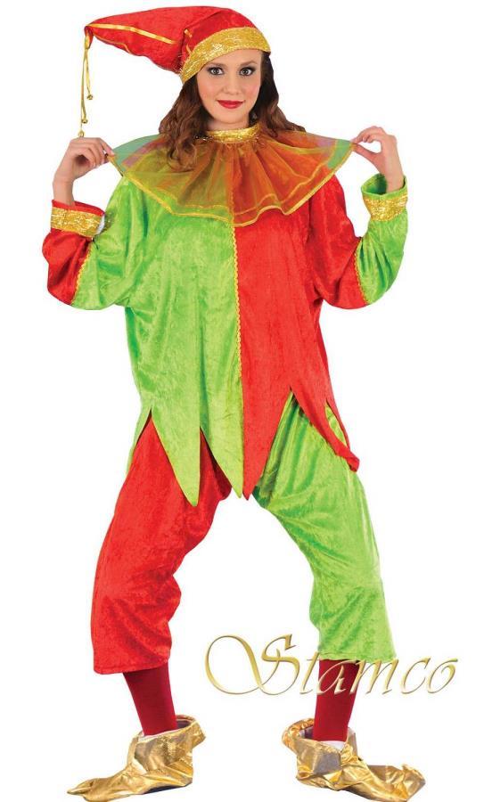 Costume-de-lutin-Noël-femme